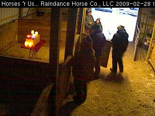 Windchill memorial vigil at Raindance Farms, LLC